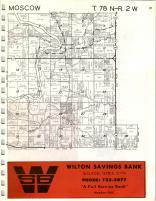 Moscow, Wilton T78N-R2W, Muscatine County 1971